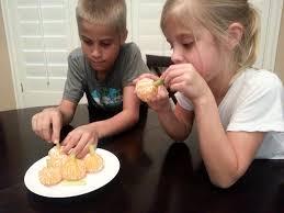 healthy halloween treats ghosts pumpkins and broomsticks