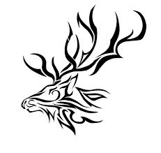 elk coloring page cmsalmon clip art image 29719