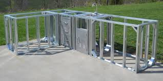 Riveting Outdoor Kitchen Island Frame Kits With Brushed Stainless - Stainless steel cabinet door frames