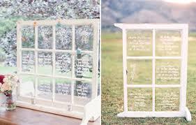 idã e plan de table mariage plan de table au look vintage fenêtres anciennes table vintage