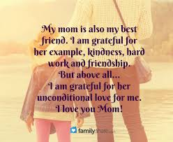 thanksgiving message for a friend mom thank your for everything you do for me you are wonderful i