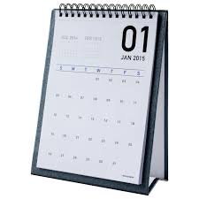 2018 easel desk calendar elegant monthly desk calendar with 2018 at a glance pad easy to read