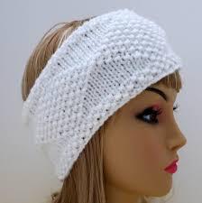 ear warmer headband pdf 129 pattern headband knit diamonds knitting pattern pdf