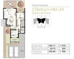 emaar south urbana 2 ground floor first floor floor plan