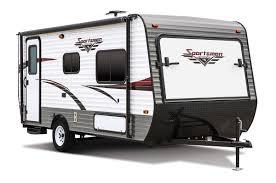 sportsmen classic 160rbt ultra lightweight travel trailer k z rv