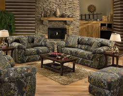 Game Room Furniture Jackson Furniture Big Game Camouflage Two Seat Sofa Lindy U0027s