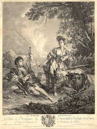 Le Berger Le Berger Recompensé The Shepherd Repaid François Boucher Robert