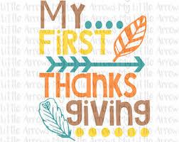 my 1st thanksgiving thanksgiving etsy