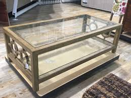Oversized Coffee Table by Spotted At Homegoods For Spring Confettistyle