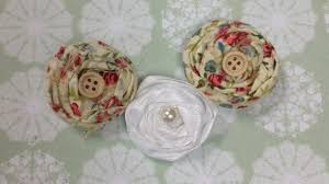 how to how to how to construct shabby chic fabric flowers diy