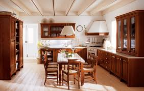 Traditional Laminate Flooring Kitchen Beautiful Natural Traditional Kitchen Decoration With