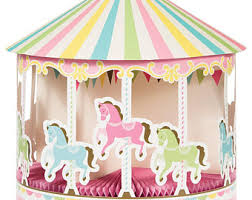 Carousel Horse Centerpiece by Carousel Party Etsy