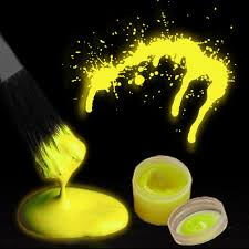glow in paint glow in the paint by the color