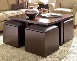 Coffee Table Ottoman Combo Sofa Ottoman Furniture Leather Ottoman Leather Tufted Ottoman
