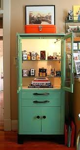 vintage metal medicine cabinet pretty retro vintage in pastel green teal medical cabinet kitchen