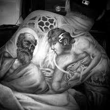100 christian tattoos for men manly spiritual designs