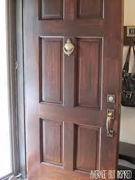 front doors chic stain front door best finish for front door