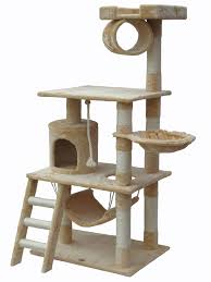wall mounted cat stairs amazon com go pet club 77 inch cat tree brown black cat