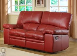 Chair And A Half Recliner Leather Furniture Leather Loveseat Recliner For Casual Seating In Your