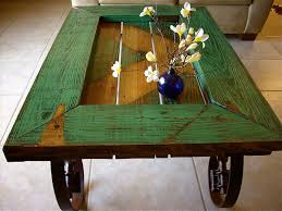 barn door side table the art of recycling old doors into stylish tables