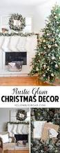 rustic glam home decor rustic glam christmas tree and mantel christmas decor mantels