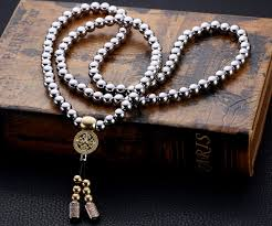 beads jewelry necklace images Buddha beads self defense necklace jpg