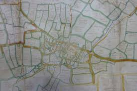 Leicester England Map by Maps Before The Ordnance Survey Leicestershire History