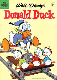 donald duck uk edition comic books