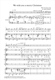we wish you a merry arr gardner choral satb sheet
