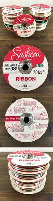 sasheen ribbon ribbon 71224 lot of 10 vintage 3m sasheen ribbon rolls new 5 8