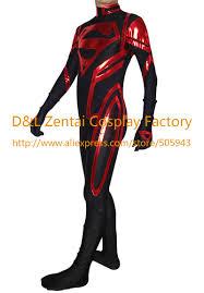 aliexpress com buy free shipping dhl black lycra red shiny