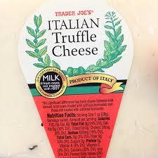 italian truffle cheese trader joe s italian truffle cheese foodspotting