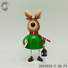 reindeer decorations ornaments image of