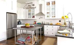 kitchen island hanging pot racks kitchen island with hanging pot rack white granite countertop