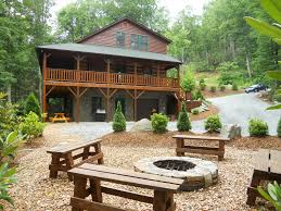 Fire Pit Mountain Views Log Cabin Tub Fire Pit F Vrbo