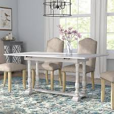 console turns into dining table lark manor lilian farmhouse folding trestle console to dining table