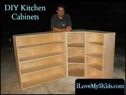 home made kitchen cabinets our diy custom kitchen cabinets