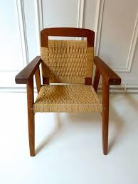 fauteuil en corde chaise enfant en bois et corde 50 u0027 triptyque u0026 co