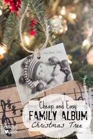 christmas ornaments on the cheap the family album tree bless u0027er
