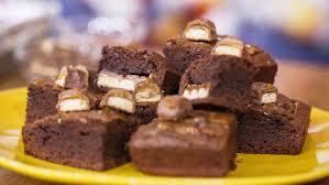 halloween chocolate background stuffed chocolate caramel brownies today com