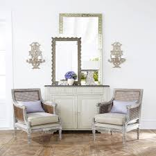 Cane Back Dining Room Chairs Linen And Cane Back Chair Wisteria