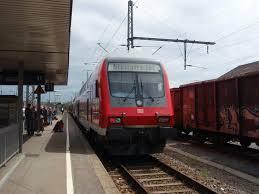 Freibad Bad Friedrichshall Ein Doppelstock Steuerwagen Als Rb Mosbach Neckarelz Stuttgart