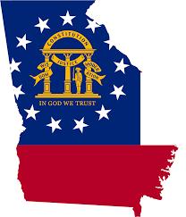 Usa Map Png by Georgia Us Flag Map U2022 Mapsof Net
