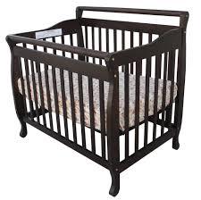 Espresso Convertible Cribs by Dream On Me 3 In 1 Portable Convertible Crib