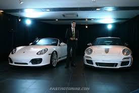 porsche gt3 malaysia porsche 911 gt3 rs 4 0 and boxster spyder unveiled in malaysia