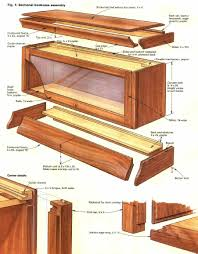 Fine Woodworking Bookshelf Plans by How To Build A Barristers Bookcase House Hints Pinterest