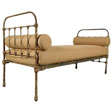 Daybed Chaise Lounge Sofa by Antique French Iron Frame Daybed For Sale At 1stdibs