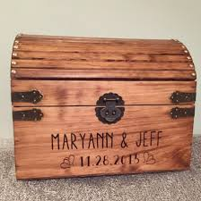 extra large lockable treasure chest gift box rustic finish