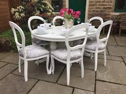 Shabby Chic Dining Table Set Shabby Chic Dining Table And Chairs