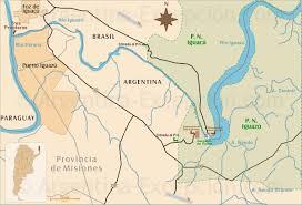 Parana River Map Visiting Northeast Argentina What To Do Tourism U0026 Activities